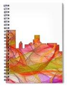 Augusta Georgia Skyline Spiral Notebook
