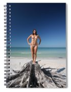 Beach Girl Spiral Notebook