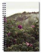 Rose Bush And Dunes Spiral Notebook