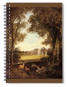 Boddington Henry John A View Of Norton Hall Henry John Boddington Spiral Notebook