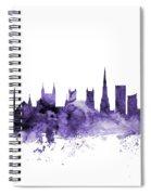 Bristol England Skyline Spiral Notebook