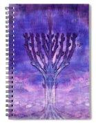 Chanukkah Lights Spiral Notebook