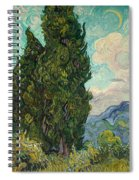 Cypresses Spiral Notebook