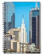 Dallas Texas City Skyline At Daytime Spiral Notebook
