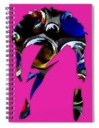 David Bowie Art Spiral Notebook