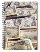 Dollar Spiral Notebook