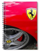Ferrari Spiral Notebook