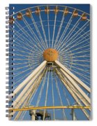 Ferris Wheel Spiral Notebook