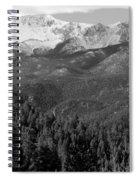 Fresh Snow On Pikes Peak Spiral Notebook