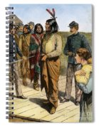 Geronimo 1829-1909.  To License For Professional Use Visit Granger.com Spiral Notebook