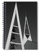 Icelandic Church Spiral Notebook