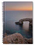 Love Bridge - Cyprus Spiral Notebook