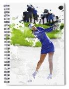 Michelle Wie Spiral Notebook