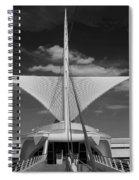 Milwaukee Art Museum Spiral Notebook