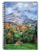 Montagne Sainte-victoire Spiral Notebook