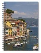 Portofino In The Italian Riviera In Liguria Italy Spiral Notebook