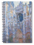 Rouen Cathedral, West Facade Spiral Notebook
