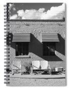 Route 66 - Blue Swallow Motel Spiral Notebook