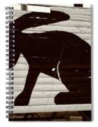 Route 66 - Jack Rabbit Trading Post Spiral Notebook