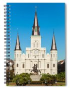 Saint Louis Cathedral Spiral Notebook