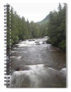 Sainte-anne River, Quebec Spiral Notebook