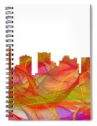 Scottsdale Arizona Skyline Spiral Notebook