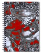 Sexy Nude Spiral Notebook