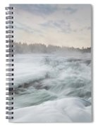Storforsen - Sweden Spiral Notebook