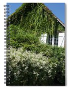 Street Scenes From Giverny France Spiral Notebook