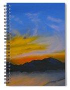 Sunset 3 Spiral Notebook