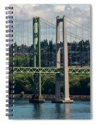Tacoma Narrows Bridge Spiral Notebook