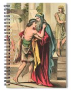 The Return Of The Prodigal Son Spiral Notebook