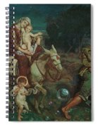 The Triumph Of The Innocents Spiral Notebook