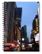 Times Square Spiral Notebook
