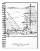 U.s. Coast Guard Cutter Northland Spiral Notebook