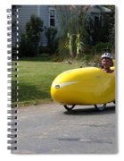 Velomobile Spiral Notebook