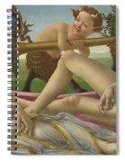 Venus And Mars Spiral Notebook