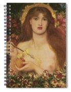 Venus Verticordia Spiral Notebook