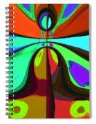 60s Free Love Spiral Notebook