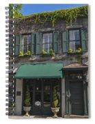 61 Queen Street In Charleston Spiral Notebook