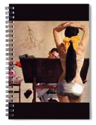 A Partner In Productive Advertising Alfred Parker Spiral Notebook