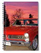 65 Gto Spiral Notebook