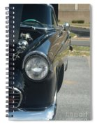 55 Thunderbird Front And Side Spiral Notebook