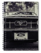 67 In The Shade Spiral Notebook
