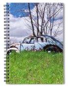 67 Volkswagen Beetle Spiral Notebook