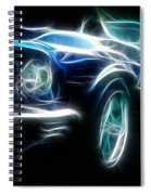 69 Mustang Mach 1 Fantasy Car Spiral Notebook
