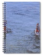 69- Paddle Boarders Spiral Notebook