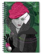 692  Decembers Lady A Spiral Notebook