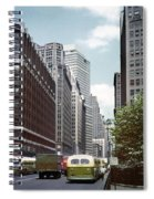6th Avenue New York 1950 Spiral Notebook