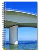 6x1 Sarasota Skyline With Ringling Causeway Bridge Spiral Notebook